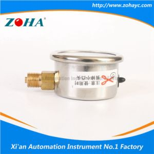 40mm Stainless Steel Vacuum Manometer with Three Color Warning pictures & photos