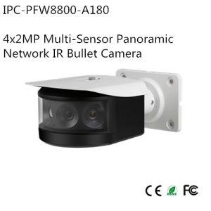 4X2MP Multi-Sensor Panoramic Network IR Bullet Camera (IPC-PFW8800-A180) pictures & photos