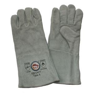 Heavy Duty Heat Resistant Work Welders Gloves pictures & photos