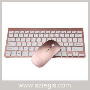 Slim Laptop Computer Mini 2.4G Wireless Mouse Keyboard Set pictures & photos