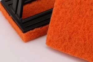 High Quality Dishes Washing Sponge Scouring Brush pictures & photos