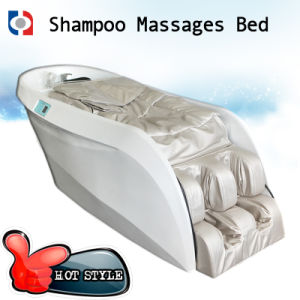 Hair Wash Shampoo Massage Chair / Mechanical Roller Massage Chair Bed pictures & photos