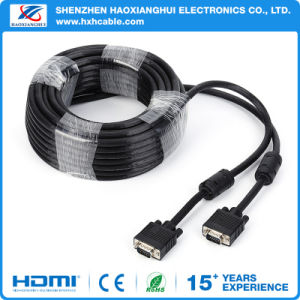 Shenzhen Manufacturer VGA Cable with Magnet Ring pictures & photos