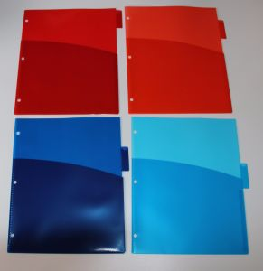 8- Tab, Letter Size Index Dividers with Pockets, Manufacturer of Index Divider in China pictures & photos
