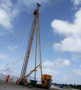 Prefabricated Vertical Drain PVD Driving Equipment Crawler Type pictures & photos