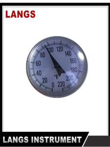 002 26mm Bimetal Pocket Thermometer pictures & photos