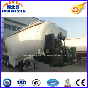 Tri-Axle Cement Bulker Trailer / Bulk Cement Trailer/ Cement Tanker pictures & photos