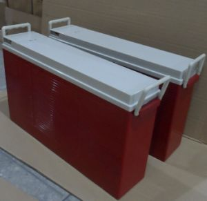 12V 200ah Front Terminal Deep Cycle Storage Battery pictures & photos