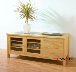 Natural Color TV Cabinet / TV Table (HW009) pictures & photos