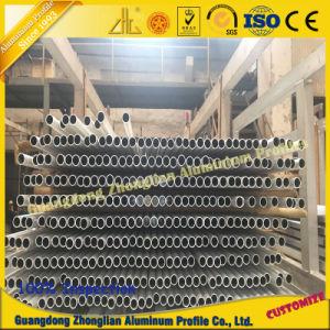 Customerized Anodized Aluminium Section for Aluminum Round Pipe Square Tube pictures & photos