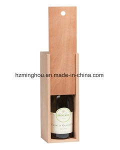 Special Single Bottle Wooden Wine Box for Gift pictures & photos