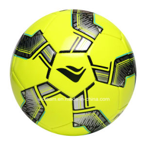 Vivid Machine-Stitched 3.5mm TPU EVA Soccer Ball pictures & photos