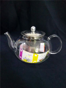 Promotional Gift Customized Glass Tea Pot pictures & photos