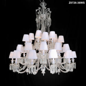 Modern Hotel Decorative Glass Chandelier Lamp (KM-Z0726B-24MX) pictures & photos