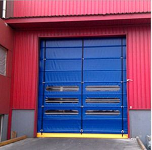 Commercial Rapid Rolling Door High Speed Door Fast Roller Shutter Door (Hz-FC009) pictures & photos