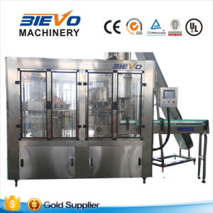 Automatic Carbonated Soft Drink Filling Machine for Small Plastic Bottle pictures & photos