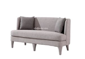 (SD-6008-2) Modern Living Room Hotel Furniture Fabric Sofa pictures & photos