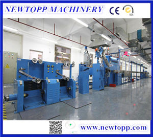 Tri-Layer Co-Extrusion Extruding Line for Physical Foaming Cable pictures & photos