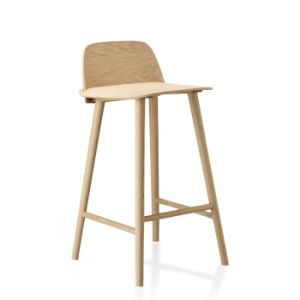 Modern Hotel Cafe Shop Restaurant Wooden Bar Stool pictures & photos