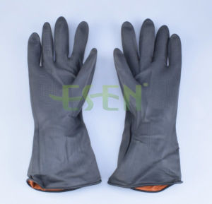 Vinyl Gloves/Black Rubber  Latex  Gloves  From China pictures & photos