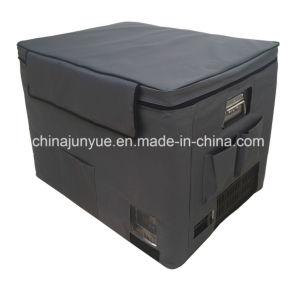 12V 24V Mobile Stainless Steel Chest Refrigerator Mobile Solar Freezer Camping Fridge Portable Fridge Bd/Bc-138L pictures & photos