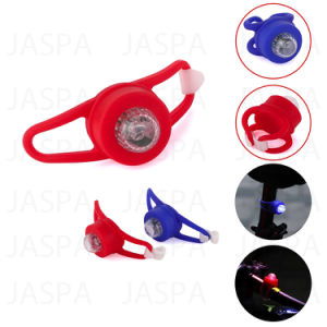 Button Battery Powered LED Bike Light with Cheap Price (24-1N1719) pictures & photos