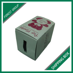 Glossy White Corrugated Carton Box for Shipping and Packaging Wholesale pictures & photos