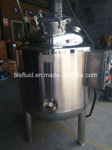 500L Electric Heater Jacket Milk/Wine Batch Pasteurizer with Agitator pictures & photos