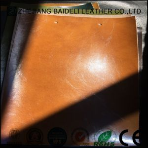 Synthetic Microfiber Leather Backing Color Same as Surface for Automotive Accessories pictures & photos