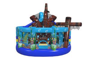 New Pirate Inflatable Combo Playground Chob1120 pictures & photos
