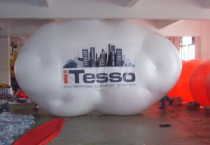 Inflatable Advertising Cloud Balloon for Sale pictures & photos
