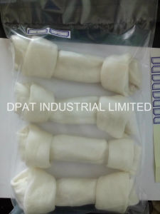 China Manufacturer Rawhide Dog Chews Bone Porkhide Knotted Bone pictures & photos