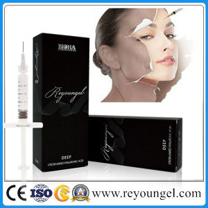 Reyoungel Hyaluronic Acid Injectable Dermal Filler for Remove Facial Wrinkles (1ml, 2ml) pictures & photos
