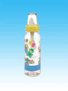 Eco-Friendly BPA Transparent PP Baby Feeding Bottle pictures & photos