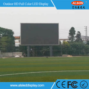 Outdoor P16 DIP346 Full Color LED Screen Board for Building Wall pictures & photos