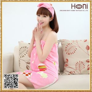 High Quality Heavier Cotton Bath Skirt Bath Towel pictures & photos