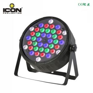 Stage New Indoor 42PCS 42X1w RGBW LEDs Flat PAR Lighting pictures & photos