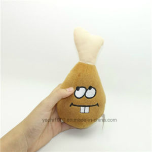 Drumstick Shape Sounding Pet Plush Toy pictures & photos