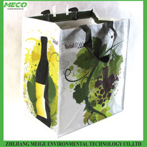 PP Woven Wine Tote Bag, for 6 Bottles pictures & photos