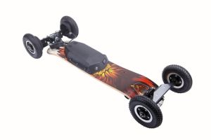 2017 Newest Powered 4 Wheel Wireless Remote Control off Road Hoverboard Electric Skateboard