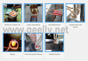 Single Phase 7kw/220V Induction Brazing Welding Machine for Solding Small Metal Parts pictures & photos