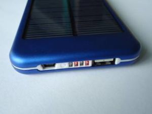 Solar Charger Sp-6000t with 5000mAh Li-Pol Power Bank pictures & photos