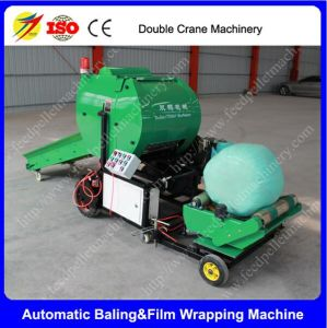 Full Automatic Cattle Feed Silage Baler and Wrapper Machine