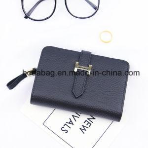 Wholesale Genuine Leather Purse Multi-Function Zipper Clutch Wallet (BDX-171002) pictures & photos