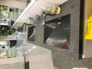 Single or Double Black Granite Basin&Sink for Bathroom or Kitchen pictures & photos