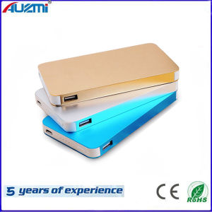 Ultrathin Dual USB Power Bank with Customized Logo