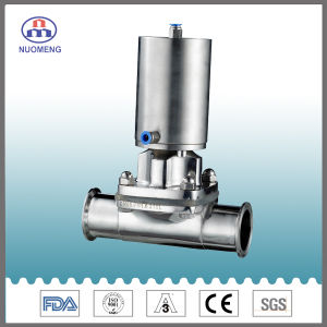 Stainless Steel Pneumaic Clamp Diaphragm Valve pictures & photos