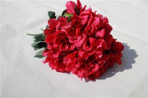Wholesale Silk Hydrangea Artificial Flowers for Decoration pictures & photos