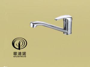 Oudinuo Single Handle Brass Bathtub Shower Mixer & Faucet 64113-1 pictures & photos