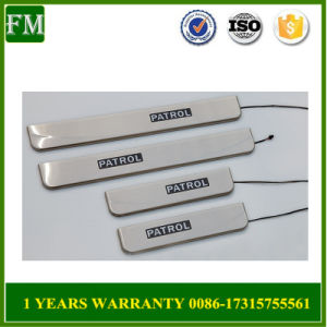 Silver Side Door Sill Plate Fits Nissan Patrol pictures & photos